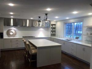 Kitchen Light Installation