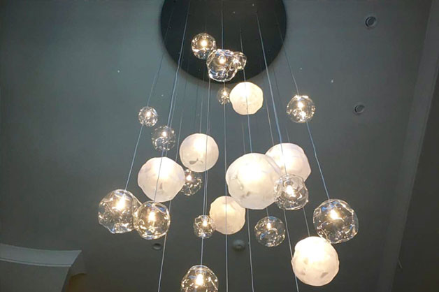 Hanging Lights in Home